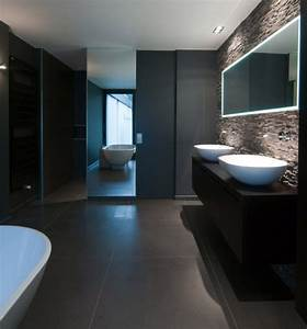 salle de bain contemporaine architecture design espace With photo salle de bain contemporaine