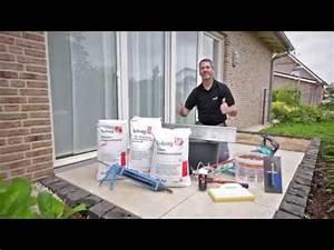 Terrassenplatten Verfugen Wasserundurchlässig : keramische terrassenplatten wasserundurchl ssig verfugt mit pfn pflasterfugenm rtel youtube ~ Orissabook.com Haus und Dekorationen