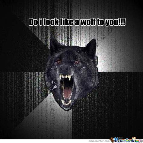 Angry Wolf Meme - angry wolf by kenmer92 meme center