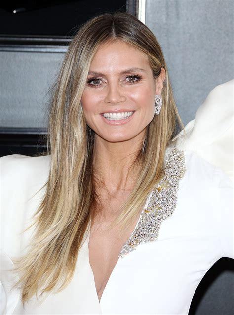 Heidi Klum Annual Grammy Awards Celebzz