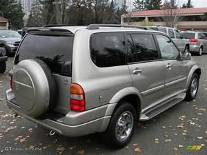 Cool Beige Metallic 2003 Suzuki Xl7 Limited 4x4 Exterior