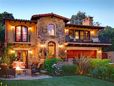 Tuscan Front Yard Landscaping Ideas  Found On Uploaded By