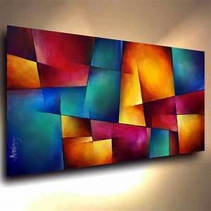 pinturas modernas abstratas