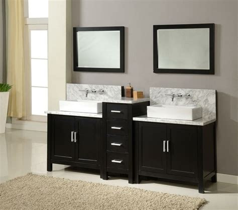 Vanity Set Espresso by J Amp J International Double Sink Vanities Traditional