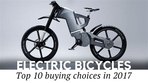 10 Best Electric Bicycles And Smart Bikes To Buy In 2017