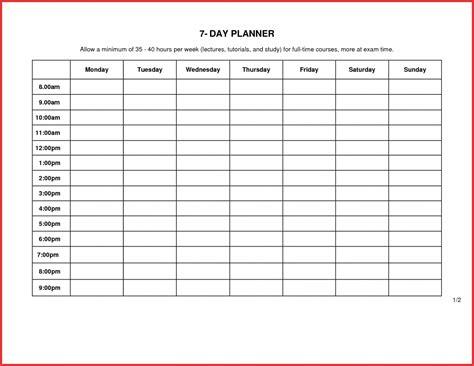 blank  day calendar template  calendar printable