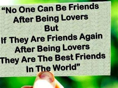 Friends Then Lovers Then Friends Again Quotes