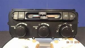 Buy 04 05 07 Dodge Caravan Manual Heater Ac Temperature