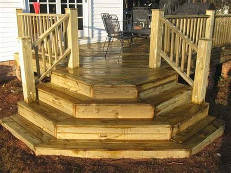 Deck Step Designs Beautiful Deck Corner Stairs Design