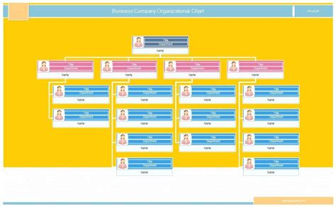 Company Ownership Chart Template by 40 Free Organizational Chart Templates Word Excel