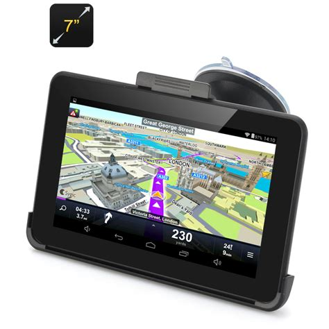 android gps radarbot gps navigator with speed radar detector 5 inch
