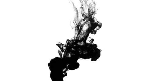 Black Ink in Water Drop