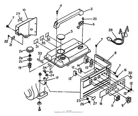 briggs and stratton power products 8844 0 580 328310 750 watt craftsman parts diagram for