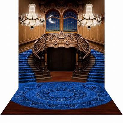 Backdrop Staircase Royal Backdrops Double Floor Studio