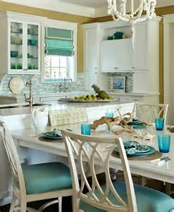 kitchen theme ideas turquoise blue white theme kitchen paradise found completely coastal
