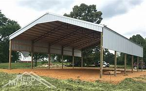 galleries example pole barns reed39s metals With 40x60x14 pole barn