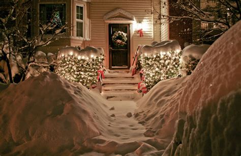 Cozy Christmas Home Decor: Christmas, Cozy, House, Lights, Love, Snow
