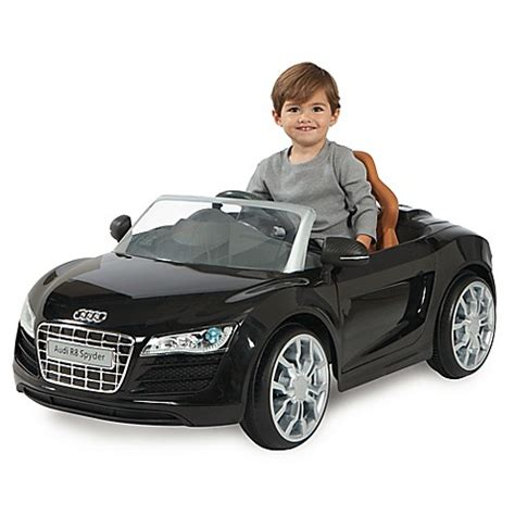siege auto baby go 7 audi r8 spyder 6v battery ride on convertible sports car