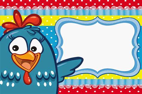 Galinha+Pintadinha+convite+poa+rosto+ga+moldura+c%C3%B3pia