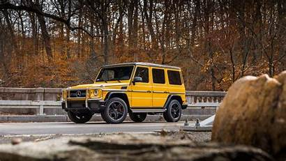 Mercedes Amg G63 4k Benz Yellow Wallpapers