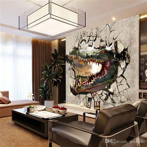photo wallpaper violence crocodile large wall mural
