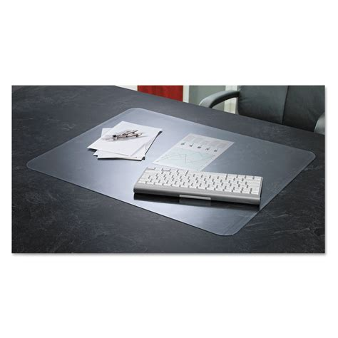 desk blotters at staples krystalview desk pad with microban by artistic 174 aop60440ms