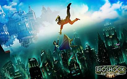 Bioshock Infinite Rapture Columbia Elizabeth Songbird Deviantart