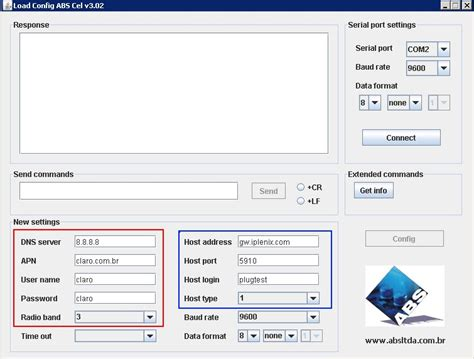 Iplenix Com Modem Abs Conversor Serial Gprs