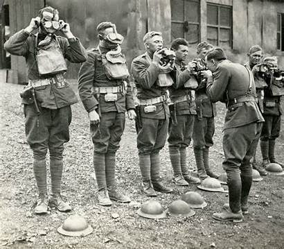 Soldiers American Gas Wwi 3d British Gifs
