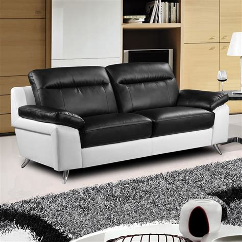 black and white sofa and loveseat nuvola italian inspired modern black and white sofa collection
