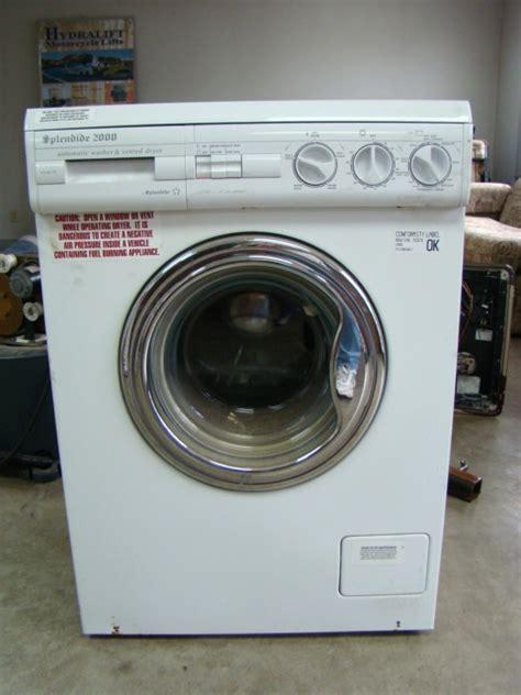 used dryer for sale rv parts splendide 2000 wd802 rv washer dryer for sale