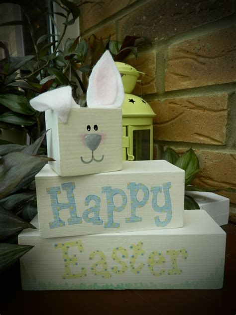 pin  tammy   easter easter wood block crafts