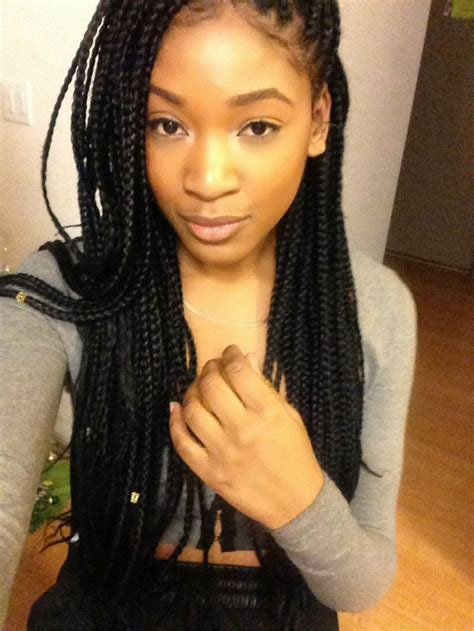 box braid hairstyle poetic justice braids protective