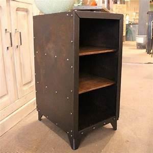 Petit Meuble Metal : mobilier industriel petit meuble d 39 atelier en m tal ~ Teatrodelosmanantiales.com Idées de Décoration