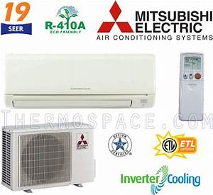 Msyge18na   Muyge18na Mitsubishi Mr  Slim Ductless Split