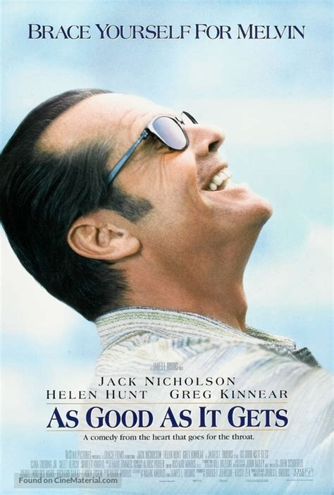 As Good As It Gets (1997) movie poster