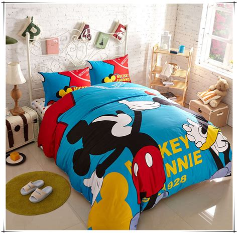 mickey mouse bedding size mickey and minnie bedding set size mickey mouse