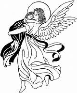 Clipart Holy Archangels Angel Angels Coloring Clip Guardian Catholic Feast Clipground Cliparts 2021 sketch template