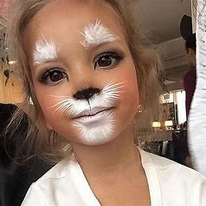 How cute ☺️Kiddos Halloween Makeup #halloween #costume # ...