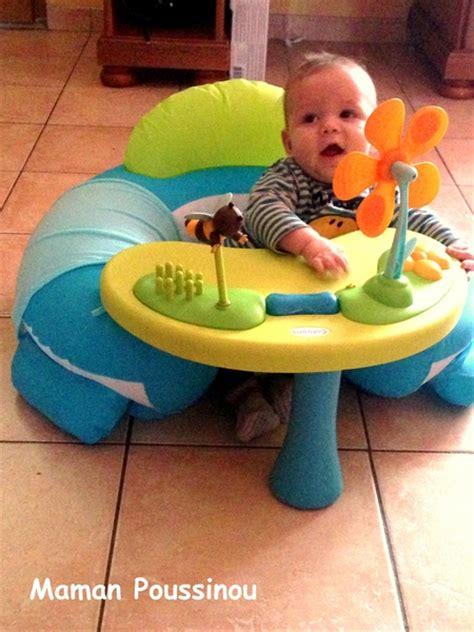 siege gonflable bébé smoby à quoi ça peut bien jouer un bébé de presque 6 mois