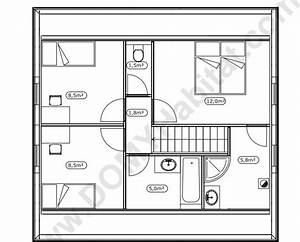 plans de la maison pop maison en bois With plan maison a etage 2 chambres