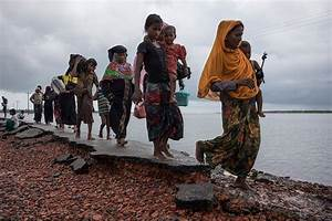 Buddhist monks force Rohingya refugees to flee their Sri ...