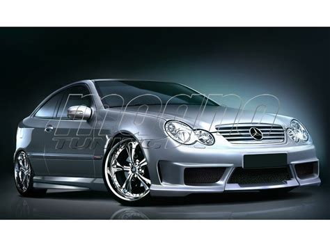 mercedes w203 coupe mercedes c class w203 coupe kit