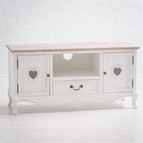 simply shabby chic tv stand vermont shabby chic tv and media cabinet furniture123