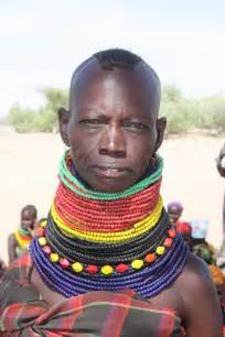Women Wearing African Beads