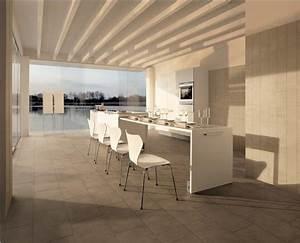 impressionnant idees de carrelage sol cuisine moderne With quel couleur pour un salon 5 41 photos qui vont vous presenter le carrelage brillant