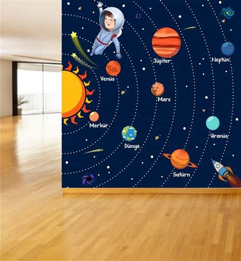 Güneş Sistemi ve Gezegenler Poster ve Duvar Giydirme ...