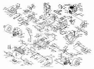 Dixon Ztr 4518k  2003  Parts Diagram For Chassis