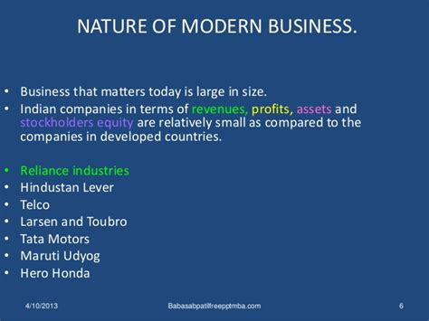 definition of modern management business environment 1 st module mba management