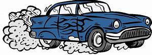 Of a car polluting the air clipart